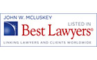 Best Lawyers John W. McLuskey